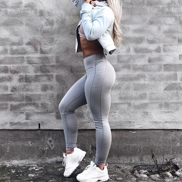 468088e691990 Gymshark Pants | Aspire Legginglight Grey Marl | Poshmark